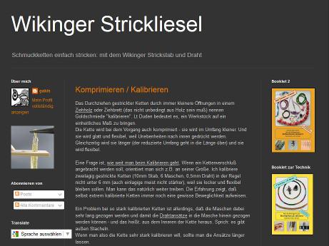Wikinger Stricken